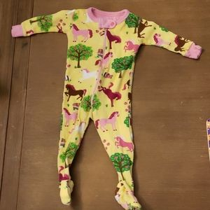 Hatley 0-3 month horse pattern sleeper
